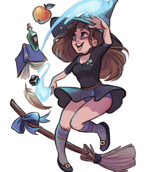 School Witch M